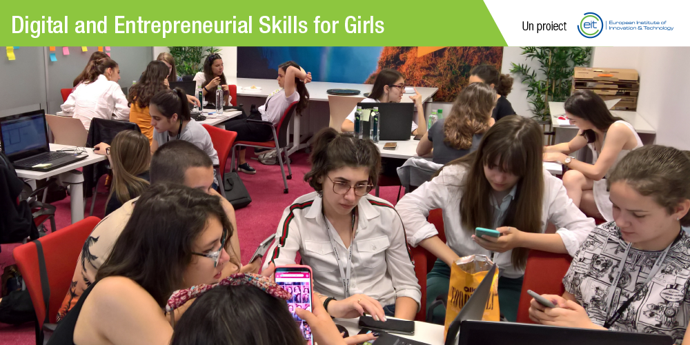 Digital and Entrepreneurial Skills for Girls